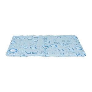 Trixie Cooling Mat – 40 x 30 cm – Druppel – Lichtblauw