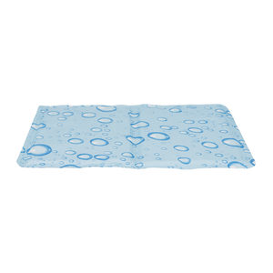 Trixie Cooling Mat – 65 x 50 cm – Druppel – Lichtblauw