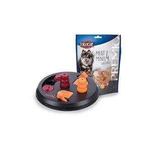 Trixie Dog Activity Flip Board + Trixie Premio 4 Meat Minis