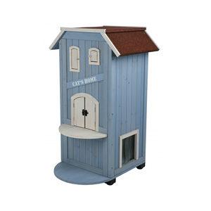 Trixie Natura Kattenhuis - Blauw