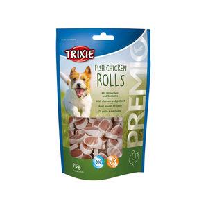 Trixie Premio Fish Chicken Rolls - 75 g