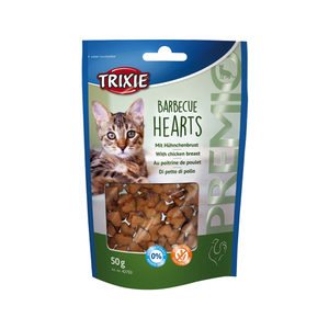 Trixie Premio Hearts - Barbecue Hearts - 50 gram