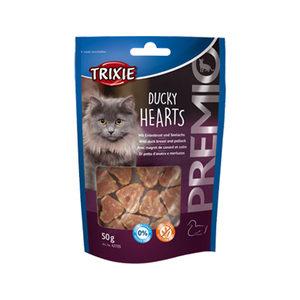 Trixie Premio Hearts - Ducky Hearts - 50 gram