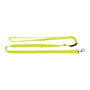 Trixie USB Flash Jogginglijn – Neon geel