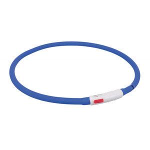 Trixie USB Flash Lichtgevende Band - Blauw
