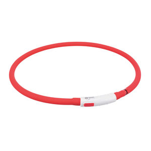 Trixie USB Flash Lichtgevende Band - Rood