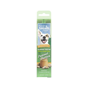 TropiCal - Fresh Breath OralCareGel Kit Peanut Butter - Dog - 59 ml