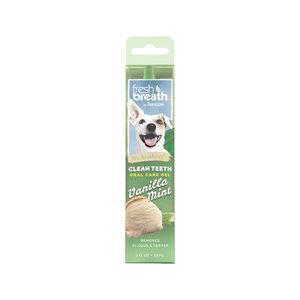 TropiClean - Fresh Breath OralCareGel Kit Vanilla Mint - Dog - 59 ml