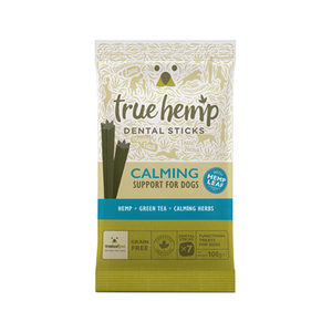 True Hemp Dog Dental Sticks – Calming – 100 gram