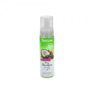 TropiClean - Deep Cleaning Dry Shampoo for Dogs - 220 ml
