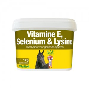 NAF Vitamine E, Selenium & Lysine – 1 kg