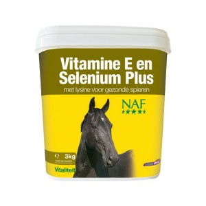 NAF Vitamine E, Selenium & Lysine – 2,5 kg