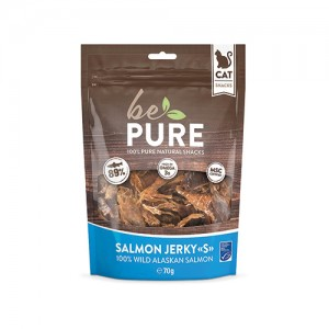 Be Pure Cat Salmon Jerky - 70 gram