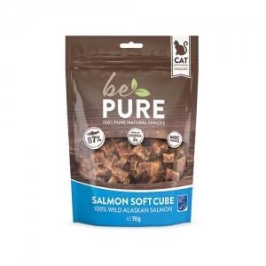 Be Pure Cat Salmon Soft Cubes - 70 gram