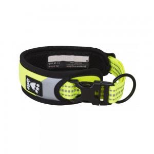 Hurtta Dazzle Collar - Yellow - 35/45 cm