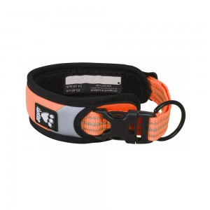Hurtta Dazzle Collar - Orange - 55/65 cm