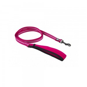 Hurtta Soft Grip Reflective Leash - Cherry - 20/180 cm