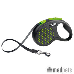 Flexi Rollijn Design – Tape Leash – L – Groen