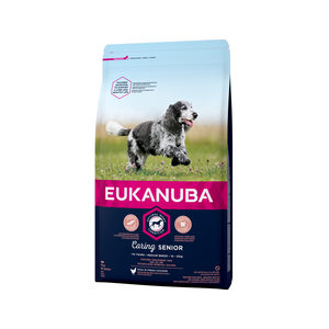 Eukanuba Dog - Caring Senior - Medium Breed - 12 kg