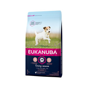 Eukanuba Caring Senior Small Breed Kip 3 kg Hondenvoer