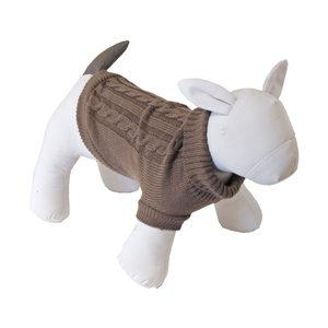 Honden - Kabel Trui Bruin