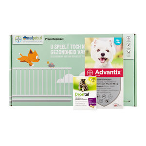 Bayer Preventiepakket Hond 15-20 kg