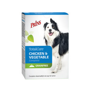 Prins TotalCare Grainfree Chicken & Vegetable Complete – 2 x 12 x 600 g