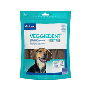 VeggieDent FR3SH Kauwstrips 10 tot 30 kg. – 15 stuks