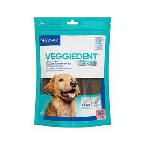 VeggieDent FR3SH Kauwstrips meer dan 30 kg. – 15 stuks
