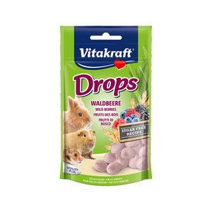 Vitakraft Drops Konijn & Knaagdier - Bosbessen