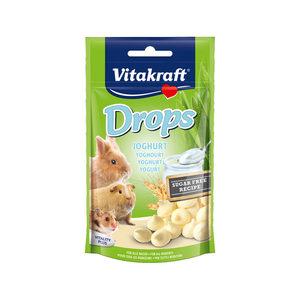 Vitakraft Drops Konijn & Knaagdier - Yoghurt