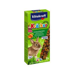 Vitakraft Konijn Kracker - Konijnensnack - Groenten