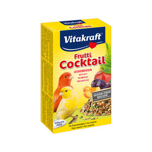 Afbeelding Vitakraft Kanarie Fruit-Cocktail - Vogelsnack - 200 g door Medpets.nl