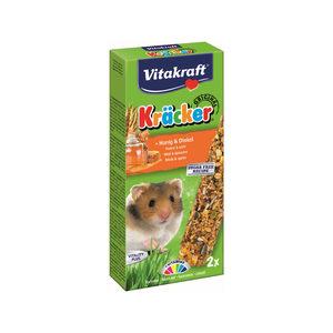 Vitakraft Hamster Kräcker Honing - 2 stuks