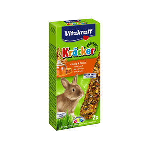 Vitakraft Konijn Kracker - Konijnensnack - Honing