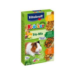 Vitakraft Kräcker Trio-Mix Cavia - Citrus, Groente & Honing