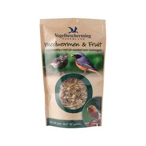 Vogelbescherming Meelwormen & Fruit - 100 gram