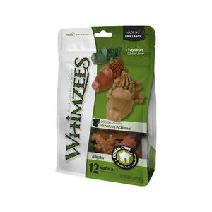 Whimzees Krokodil – M – 12 stuks