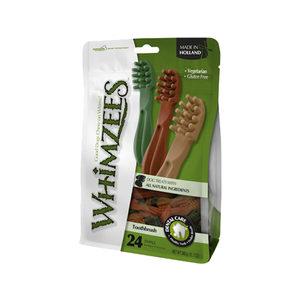 Whimzees Tandenborstels - S - 24 stuks