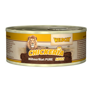 Wildcat Chickeria Pure Adult Wet - 6 x 190 g