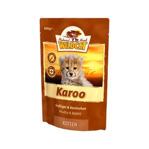 Wildcat Karoo Kitten - Maaltijdzakjes - 14 x 100 g