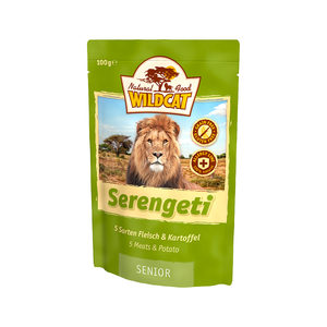 Wildcat Serengeti Senior - Maaltijdzakjes - 7 x 100 g