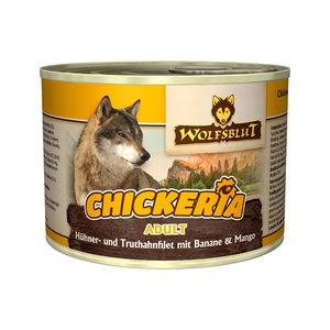 Wolfsblut Chickeria Adult Wet - Kip & Kalkoen met Banaan & Mango - 3 x 190