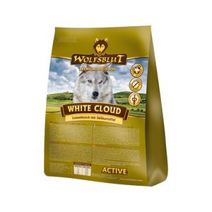 Wolfsblut White Cloud Active Adult - 15 kg
