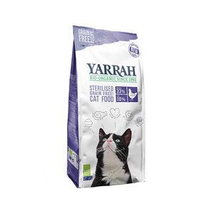 Yarrah – Droogvoer Gesteriliseerde Kat Graanvrij Bio – 2 kg
