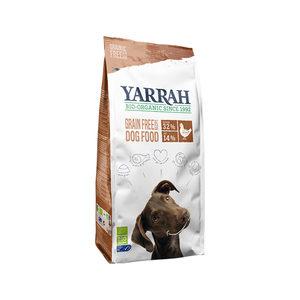 Yarrah - Droogvoer Hond Graanvrij Bio - 10 kg + GRATIS Yarrah Frisbee