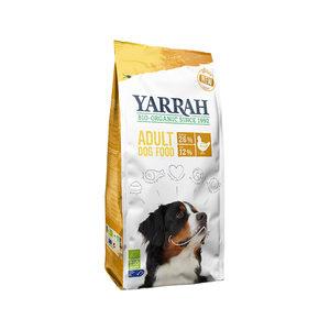 Yarrah - Droogvoer Hond met Kip Bio - 10 kg + GRATIS Yarrah Frisbee