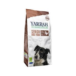 Yarrah - Droogvoer Hond Senior Bio - 10 kg + GRATIS Yarrah Frisbee