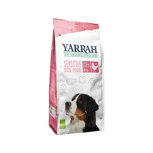Yarrah - Droogvoer Hond Sensitive Bio - 10 kg + GRATIS Yarrah Frisbee