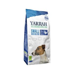 Yarrah - Droogvoer Hond voor kleine rassen Bio - 5 kg + GRATIS Frisbee